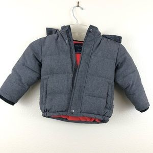 Nautica Baby Toddler Boy Gray Winter Coat Jacket